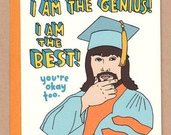 The Genius Lanny Poffo Card
