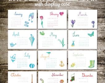 2018 Calendar, Gift for Her, Gift for Teacher, Secret Santa Gift, Stocking Stuffer for Her, Calendar, 2018 Calendar, Office Gift, Classroom