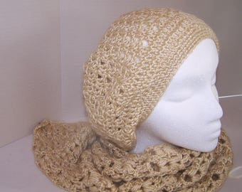 Slouchy Hat and Scarf