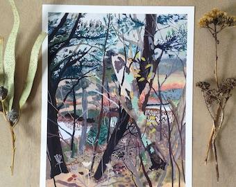 Woods- Archival Print