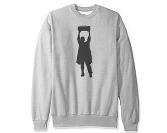 Say Anything - Boombox - Vintage Looking Sweatshirt !