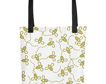 Four Bees (Mini Bees) Tote