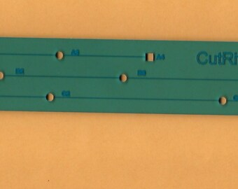 French Curve, Hip Curve, Mini Ruler Set.  Clover Needlecraft