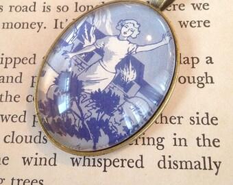 "Nancy Drew ""The Clue in the Diary"" pendant"