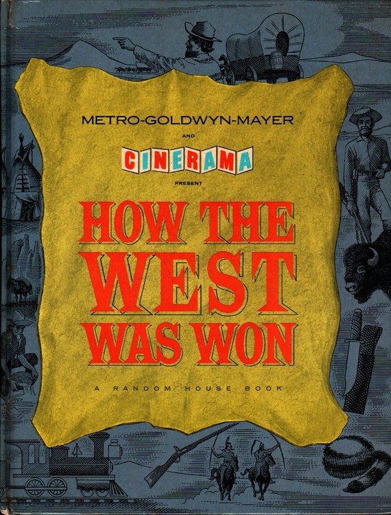 How the West Was Won  + 1963 + Vintage Movie tie-in Book