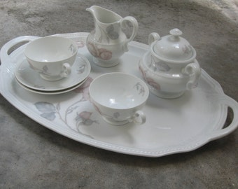 Rosenthal R.C. Kronach-Bavaria HILDEGARD. Tête-à-Tête. Porcelain set for the noble coffee table. More than 60 years old. TOP condition!