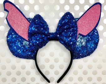 Stitch Disney Inspired Mickey Mouse Ears