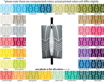 Auto Sneeze - Arrows - PICK YOUR COLOR - Visor Tissue Case/Cozy - Car Accessory Automobile Tribal