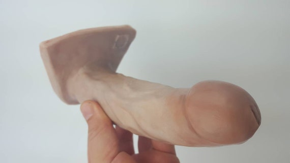 BJ Dildo 2030-Hand Painted Silicone Dildo-Adult-Sex Toy-Designed to Suck