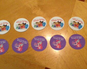 Character Party Envelope Sticker Seals