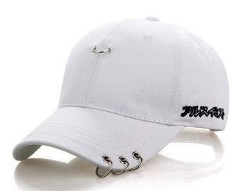 BTS Jimin Fashion Cap,BTS Kpop, Bangtan Boys, Korea Hiphop, Unisex Baseball Cap, Bulletproof Boy Scouts, BTS Baseball Cap