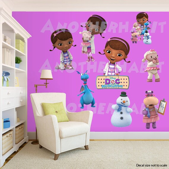 doc mcstuffins wall decal room decor 15191 | il 570xn 1072760394 hgx1 version 0