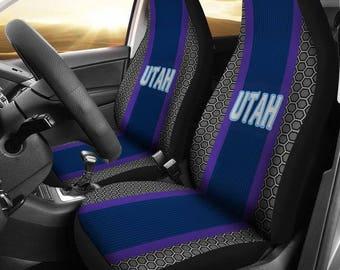 Minnesota Vikings Micro Fiber Car Seat Covers Straight Canton