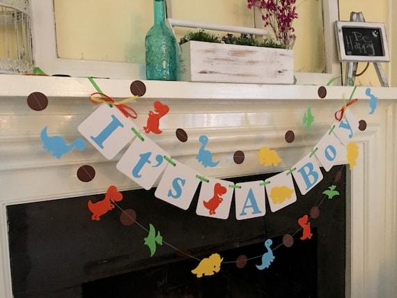 dinosaur baby shower decorations it u0026 39 s a boy dinosaur