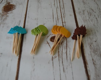 Camping Party Picks (24pc)