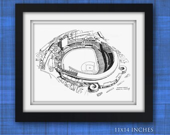 Kauffman Stadium, Kansas City Limited Print
