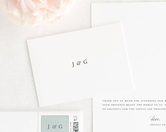 Jessica Thank You Cards