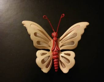 Enamel Butterfly Brooches