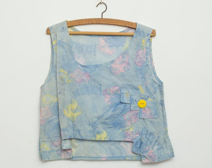 Vintage blue top deadstock