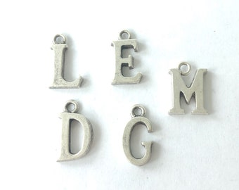 Initial Charm, Nunn Design, Limited Letters Left