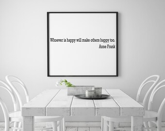 Anne frank quote Printable Wall Art, wall decor