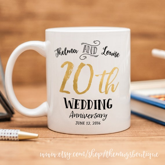 Customised Wedding Mug