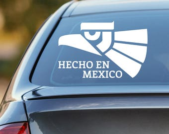 Hecho En Mexico Decal, Hecho En Mexico, Made in Mexico Decal, Made in Mexico, Hecho En Mexico Sticker, Made in Mexico Sticker, Mexico Decal