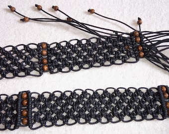 Braided belt 004