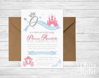 Printable Princess Party Invitation