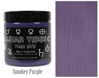 Purple Grey Hair Dye
