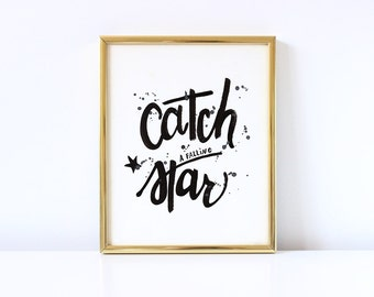 Catch A Star - Digital Printable for your kids room