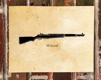 KillerBeeMoto: Limited Print M1 Garand World War Two Rifle