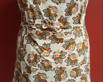 Fall Paisley Turkey Apron