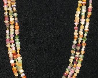 Vintage Semi-Precious Gemstone Necklace