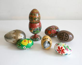 Hand Painted Egg Collection