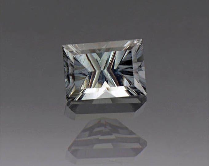 Glittery Silver Blue Tourmaline Gemstone from Brazil 1.30 tcs.