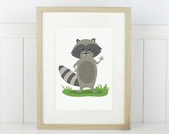 Raccoon PRINT