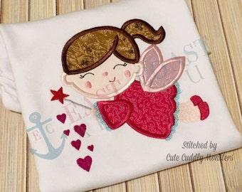 VALENTINE FAIRY machine embroidery design