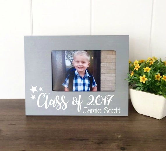 Personalized Preschool Graduation Picture Frame, Class of 2017 ...