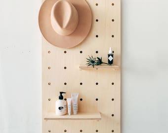 Display Birch Plywood Pegboard / Shelving / Display Unit / Shop Display