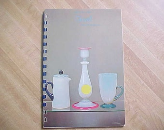 1967 Reference Book on Fry Glass, Pearl Art Glass Foval by Lafferty, First Edition and First Printing, Fry Foval Collectible Glassware