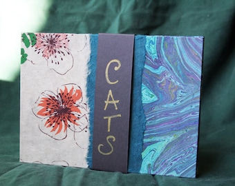 Cats : a small artist book with 10 Cats' photographs ©corinne caratti