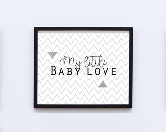 Picture / poster - My little baby love
