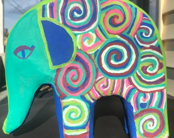 Spiral Out Elephant