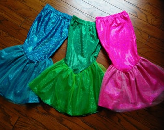 Mermaid Costume; Mermaid tail skirt-Fast shipping!