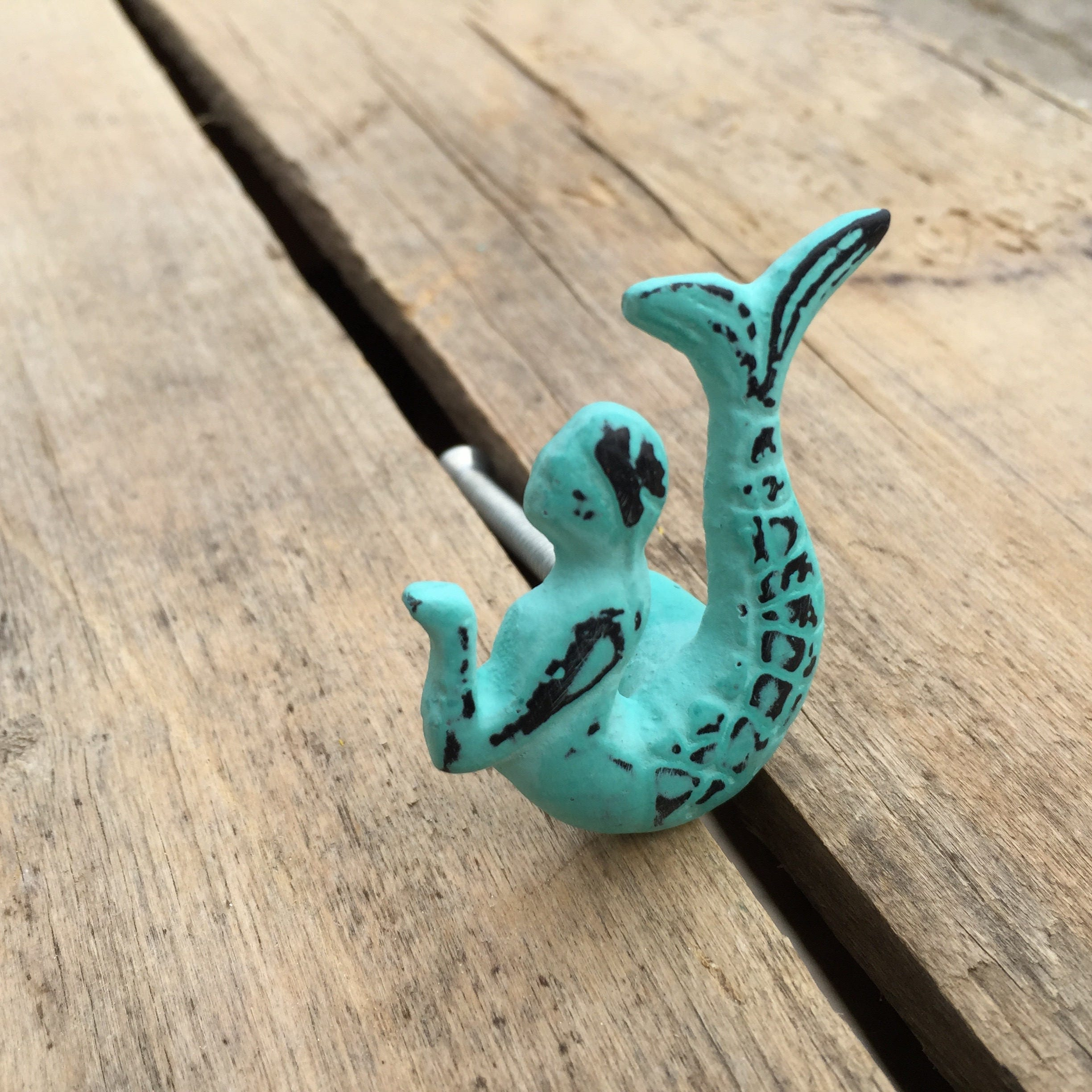 pull pulls replacement by mermaid for knob item pin cabinets knobs furniture ocean white beach theme drawer drawers blue ceramic inspired nautical