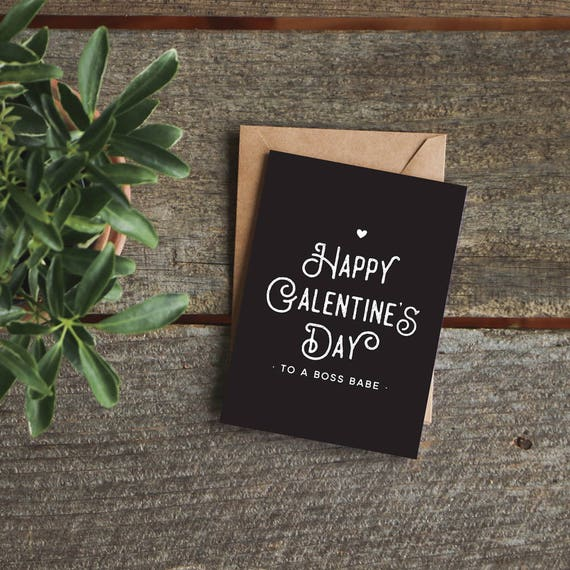 Funny Valentine Card Friend Valentine's Day Card for
