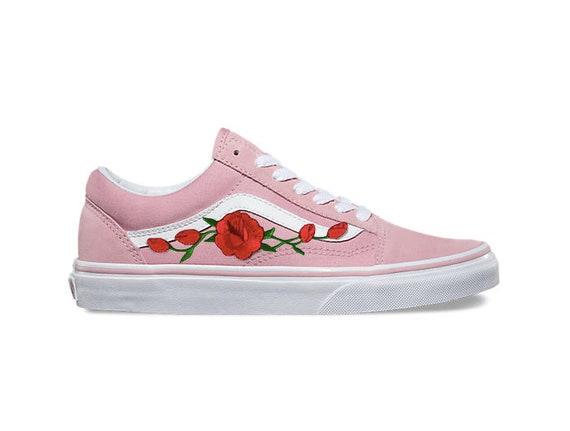 vans schuhe frauen rosa