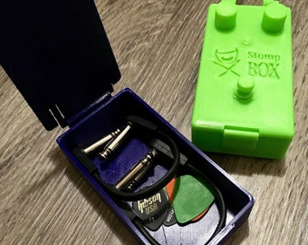 StompBOX - Effects pedal shaped accessories box, 3D printed