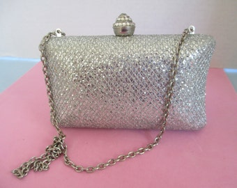 Vintage Evening Purse Clutch Bag by Expressions NYC used good condition